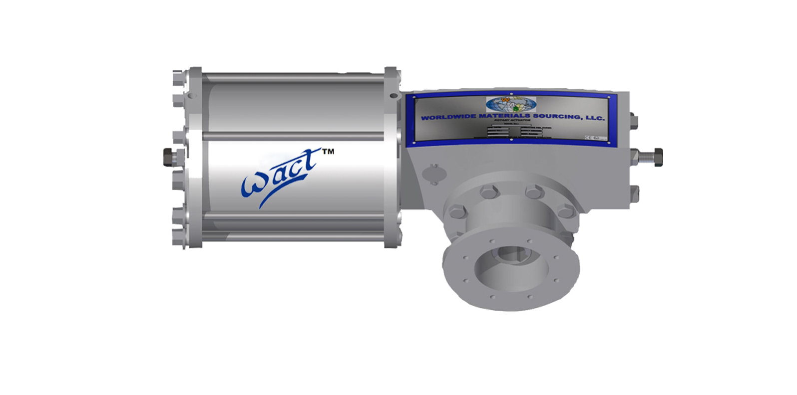 Heavy Duty Double Acting Pneumatic Actuator